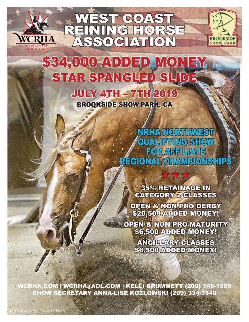 2019 Star Spangled Slide Flyer